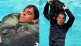 Pantaloni per galleggiare in mare: il trucco salva-vita