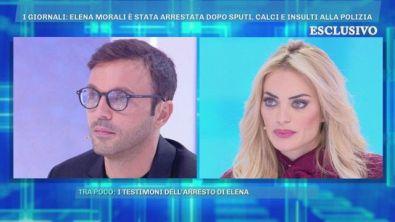 "I giornali ""Elena Morali è stata arrestata"""