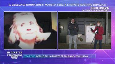 Il giallo di nonna Rosy: marito, figlia e nipote restano indagati