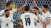 Euro 2020 Italia-Turchia 3-0