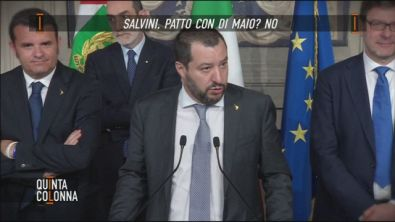 Salvini, patto con Di Maio? No!
