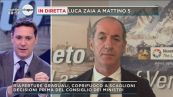 Luca Zaia a Mattino 5