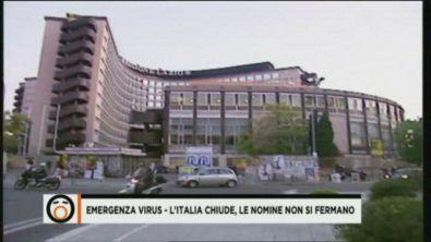 Emergenza virus - L'Italia chiude, le nomine non si fermano