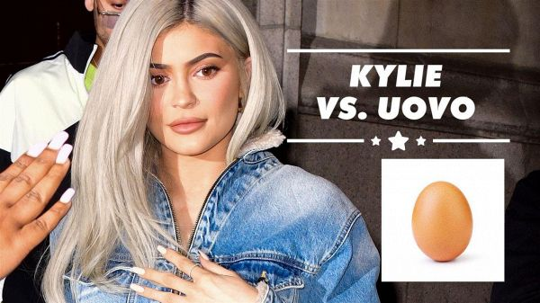 Kylie Jenner 'uccide' l'uovo di Instagram
