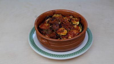Ricetta per parmigiana di melanzane e zucchine