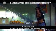 GAZZARRINI: Amanti in quarantena: lo scherzo con Alex Belli a Delia Duran
