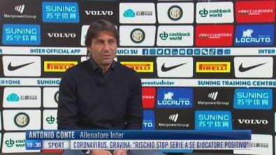 """Inter, Conte: """"sarà difficile senza i tifosi, ma la salute viene prima di tutto"""""""