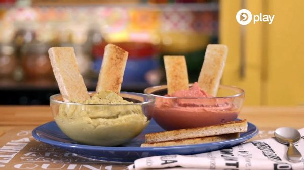 Video ricetta: hummus e guacamole