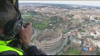 Coronavirus, Roma dall'alto come non l'avete mai vista
