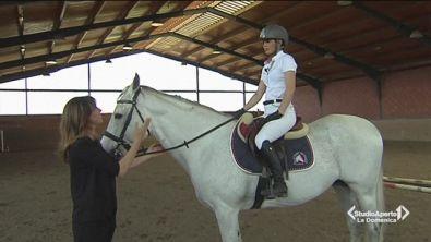Andare a cavallo per rimanere in forma