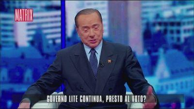 Berlusconi, i complimenti a Porro