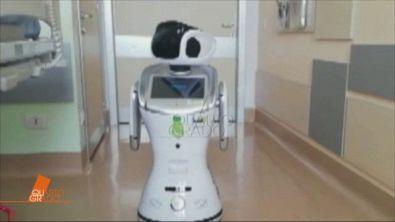 Covid-19: I robot nelle corsie