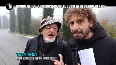 ROMA: Renzi, lavoro nero e abusivismo anche nelle società di babbo Tiziano?