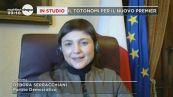 Debora Serracchiani a Mattino 5