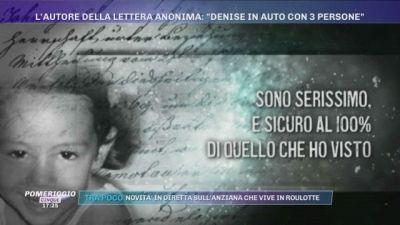 La scomparsa di Denise Pipitone. L'autore della lettera anonima: ''Denise in auto con 3 persone''