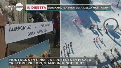 """Bergamo: """"La protesta della Montagna"""""""