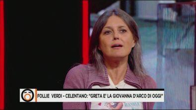 Rosita Celentano difende Greta Thunberg