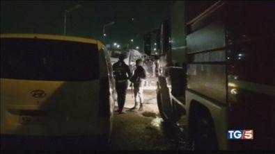 40 terroristi uccisi dopo la bomba al bus