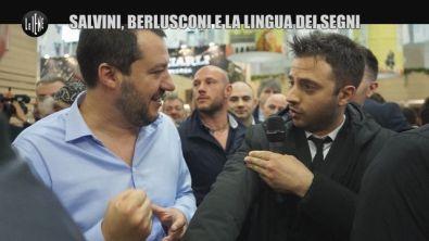 CORDARO: Salvini, Berlusconi e la lingua dei segni