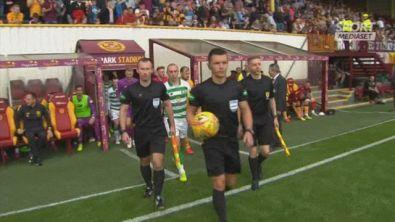 Scozia, Motherwell-Celtic 2-5