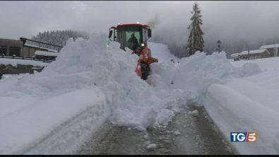 Ma al nord è allarme neve