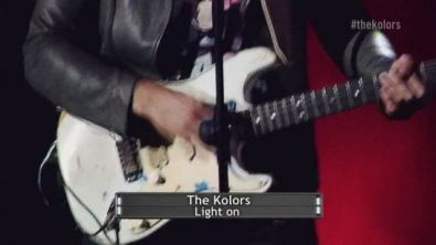 Light on - Live in Expo - The Kolors
