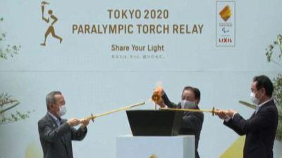 Le fiamme di Tokyo riunite per le Paralimpiadi