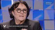 Renato Zero ricorda Federico Fellini