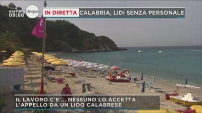 Calabria, lidi senza personale