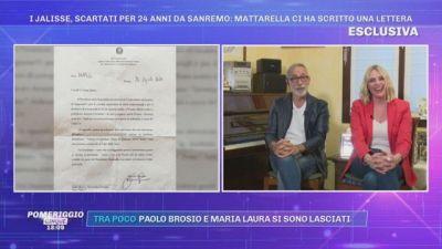 Il Presidente Mattarella ha scritto una lettera ai Jalisse