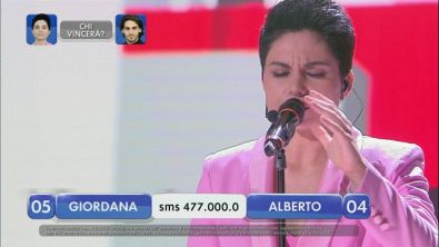 Alberto vs Giordana - La finalissima - VI esibizione