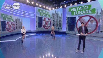 In studio Milano, stop al fumo all'aperto