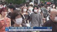 Breaking News delle 11.00   Usa, contagi record in 24 ore