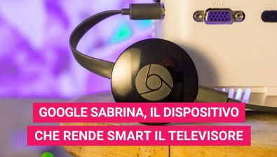 Google Sabrina, il nuovo dispositivo che rende il TV intelligente