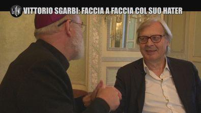 SARNATARO: Vittorio Sgarbi: faccia a faccia col suo hater