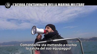 PELAZZA: L'acqua contaminata della Marina Militare