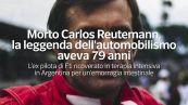 Morto Carlos Reutemann, la leggenda dell'automobilismo aveva 79 anni