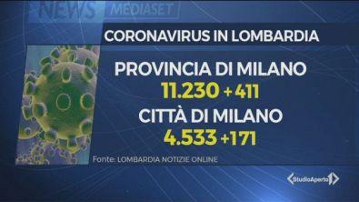 Coronavirus: la curva di Milano sale e preoccupa
