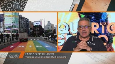 Covid-19: Fabrizio Pregliasco, virologo