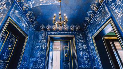 Palermo, la misteriosa stanza blu