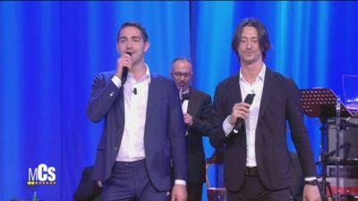 Tommaso Zorzi e Francesco Oppini come Cochi e Renato