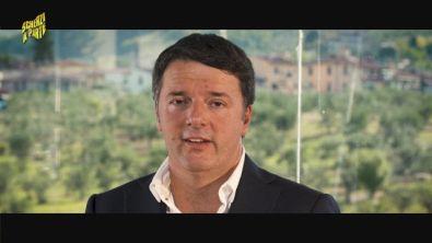 Lo scherzo a Matteo Renzi