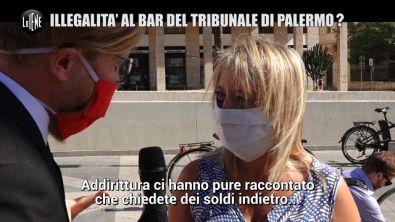 LA VARDERA: Illegalità al bar del tribunale di Palermo?