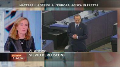 In diretta Silvio Berlusconi
