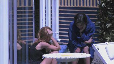 Jessica in lacrime per il padre