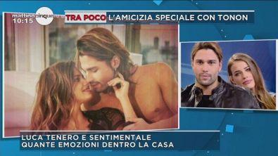 Luca Onestini: tenero e sentimentale