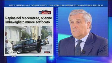 Antonio Tajani e la sicurezza