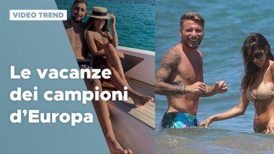Le vacanze dei Campioni d'Europa