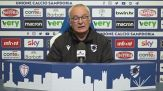 """Ranieri: """"Col Milan serve gara perfetta"""""""