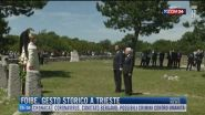 Breaking News delle 16.00 | Foibe, gesto storico a Trieste